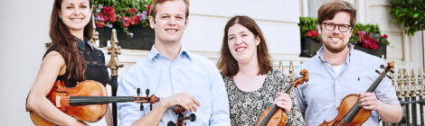 CASTALIAN QUARTET/Sun 15 October 2017 4pm