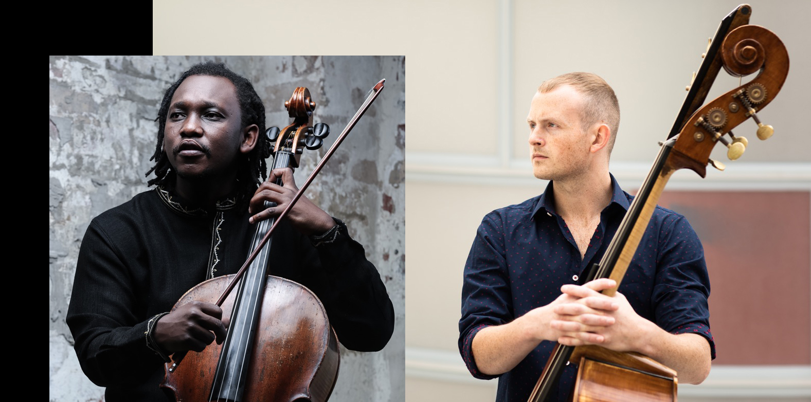 TOBY HUGHES & ABEL SELAOCOE BASS & CELLO (Sunday 8th March, 11.30am)